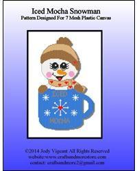 Iced Mocha Snowman 1/2