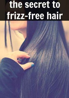 Fake It Until You Make It: Frizz-Free Hair