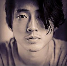 Steven Yeun / oh so fine (I'm biased toward Asian men. My honey is Chinese American and he is a dream)