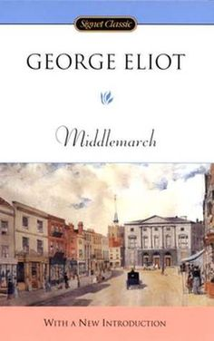 Middlemarch: A Study of Provincial Life - our new events coordinator is reading this!