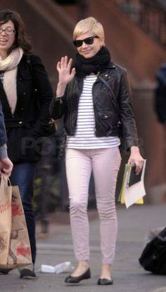 Мишель Уильямс в Бруклин картинки с Матильдой | POPSUGAR знаменитости