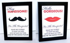 Restroom Sign Toiletries Basket Printable Reception Sign DIY You Print 5x7 or 4x6 Madly Modern Red Black and White