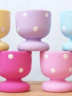 Dotty egg cups