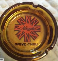 Old Naugles ashtray. One item that might not be coming back during the Naugles revival. Hotel Motel, Hospitality, Restaurants, California, Vintage, Food, The California, Eten, Restaurant