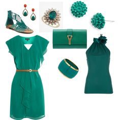 Gimme gimme gimme that classy emerald green! <3
