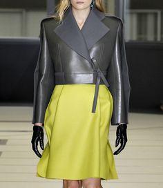 Leather x neon.