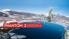 NEW! Take your creativity to new heights with the DJI Phantom Vision + Quadcopter #aerialphotography