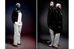 France's take on Olympic fashion 2012 - perhaps a little TOO austere?