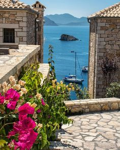 Sívota, Thesprotia, Greece - Travel Tips Beautiful Islands, Beautiful World, Places Around The World, Around The Worlds, Wonderful Places, Beautiful Places, Places To Travel, Places To Visit, Crete Greece