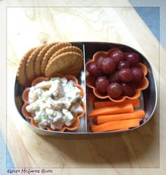 Lunch Made Easy: MOMables Monday - Chicken Salad Bento  #GlutenFree #NutFree @LunchBot @Laura Fuentes/ MOMables.com