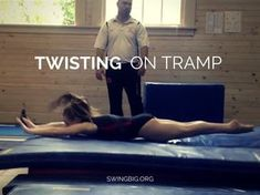 Twisting progressions on tramp | Swing Big! Gymnastics Blog
