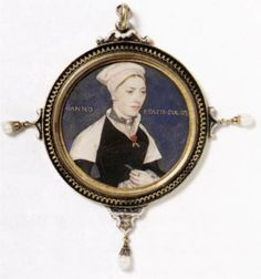 Portrait of Jane Pemberton - Hans Holbein the Younger,1540