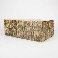 KIKKERLAND Large Woodblock Storage Box