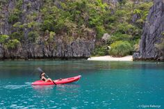 Go kayaking in a beautiful location