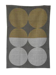 "ferm LIVING Moon Tea Towel   AllModern   27.56"" x 19.69""   $17.25"