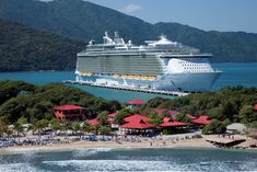 Oasis of the Seas in Labadee! That's where we will be sailing when you join me and my Beachbody family aboard the Oasis of the Seas next spring! Message me or comment for details to earn your royal vacation! :) Facebook.com/LisaHumphrey100