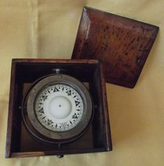 Antique Compass Antique Marine Sestrel Compass Very Rare V for West Nautical Maritime Binnacle by PolychromeEmerald on Etsy Vintage Compass, Cottage Chic, Recovery, Nautical, Vintage Items, Etsy Shop, Rustic, Antiques