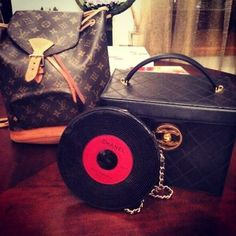 oldisgood vintage goodies chanel beautycase beauty case record bag louis vuitton backpack