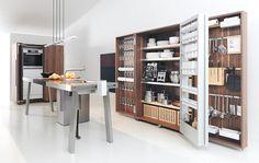 Sensible free standing storage armoire