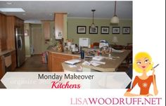 Kitchens can always use a nice makeover, and here's my Monday Makeover for a kitchen! | Organize 365