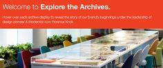 Explore the KnollTextiles Archives Florence Knoll, Mid-century Modern, Contemporary, Upholstery, Archive, House Design, Explore, Table, Furniture