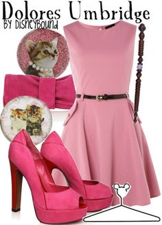 screw that...use pink dress and a wand be glenda or drop wand and be barbie...dolores has too many cats