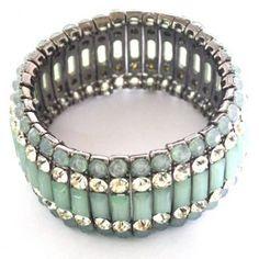 mint green bracelet