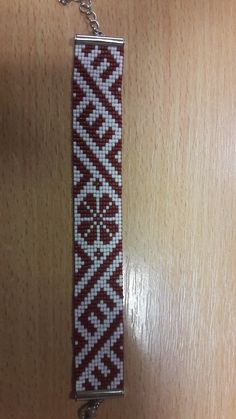 Loom Bracelet Patterns, Bead Loom Bracelets, Woven Bracelets, Bead Crochet Patterns, Beading Patterns, Bead Crafts, Jewelry Crafts, Bead Loom Designs, Crochet Rope