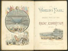 1851 London, Great Exhibition of the Works and Industry of All Nations Exhibition Building, Exhibition Space, Crystal Palace, Hyde Park, World's Columbian Exposition, Victorian Style Homes, Fair Games, Expositions, World's Fair