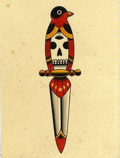 Bird Skull Dagger, pretty good combo. Kyler Martz. 2013.