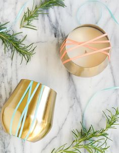 DIY Rosemary and Grapefruit Candle