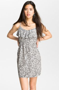 Soprano Ruffle Front Dress (Juniors) available at #Nordstrom