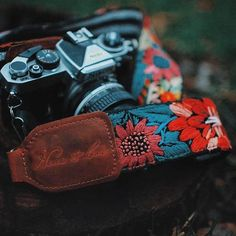 A little color on a stormy day here in Utah! Nena & Co camera straps
