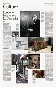 International Herald Tribune — Miguel Buckenmeyer
