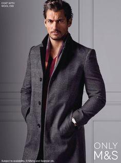 David Gandy for Marks & Spencer Fall 2014