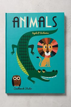 From a silly snake to an endearing elephant, each oversized page highlights a whimsical animal in a splendid alphabetical array. Eye-catching typography and stylish illustrations make this poster book a bookshelf keepsake.