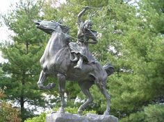 On April 5 1761 Sybil Ludington, a heroine of the American Revolutionary War, was born. At the age of 16 she rode through the night to warn militiamen that British troops were planning to invade Danbury, Connecticut. Her 40-mile journey took her through the semi-wilderness, and although the soldiers she roused were unable to save Danbury they did arrive in time for the Battle of Ridgefield.