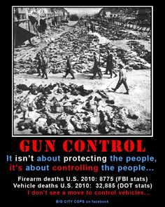 Gun Control, it's not about protecting the people.