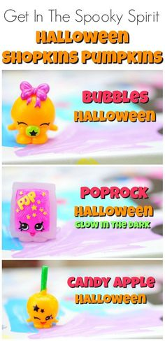 Get In The Spooky Spirit With Shopkins Halloween Pumpkins