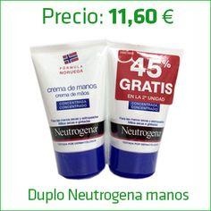 Duplo Neutrogena manos. Promociones activas únicamente en la Farmacia | Farmacia Lauria