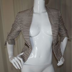 H&M striped Blazer This is a great blazer for running errands or going to dinner! Love this one! H&M Jackets & Coats Blazers