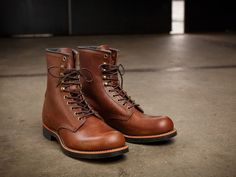 Red Wing Heritage Rerelease Their 1930s Harvester Work Boot. http://www.selectism.com/2014/09/16/red-wing-heritage-harvester-boot/