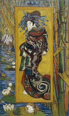 The Courtesan - Vincent Van Gogh, 1887