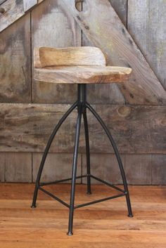 Industrial Barstool | FarmHouseUrban LOVE LOVE LOVE these!!!!!!