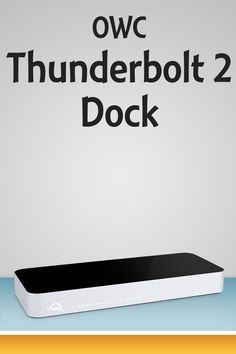 Need more ports for your Thunderbolt-equipped PC, or want a single cable to dock with your station? OWC's Thunderbolt 2 Dock may be the best solution.  #Podcasting gear video from #NMX and #NABshow