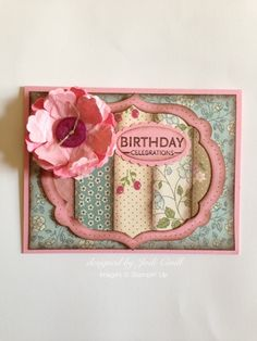 something about stamping, Stampin' Up card, Upsy Daisy, Framelits Labels Collection