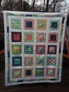 Picnic in the Square Quilt