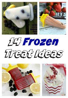 Frozen Treats #recipes