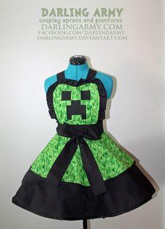 darling army   Minecraft Creeper Dress
