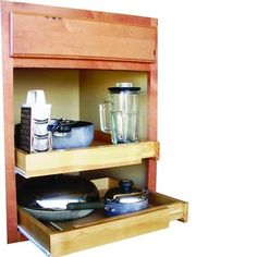 Kitchen Cabinet Pull-Out Shelf